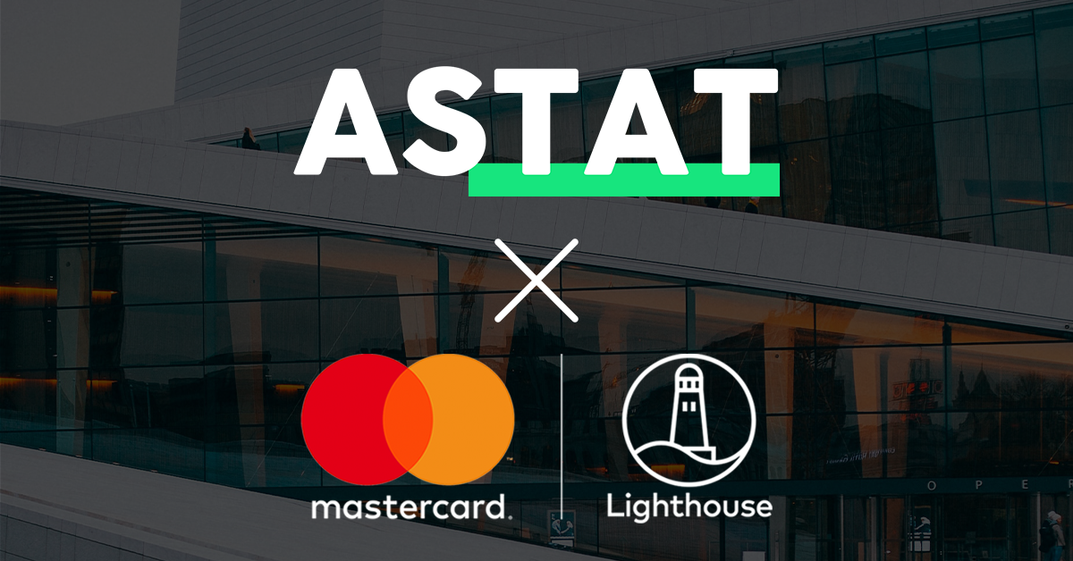 Astat is in MasterCard Lighthouse